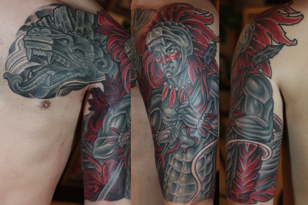 San Diego Tattoo Artists - Aztec Tattoo by Terry Ribera