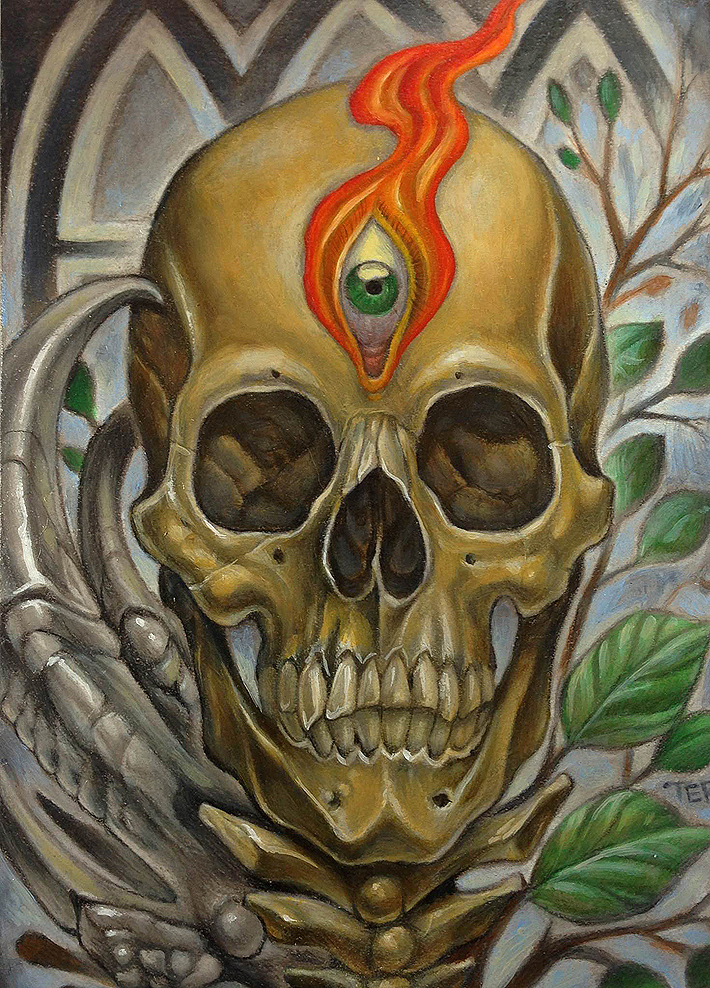 SD-Too Art show, Paintings by San Diego's Greatest Tattoo artist!